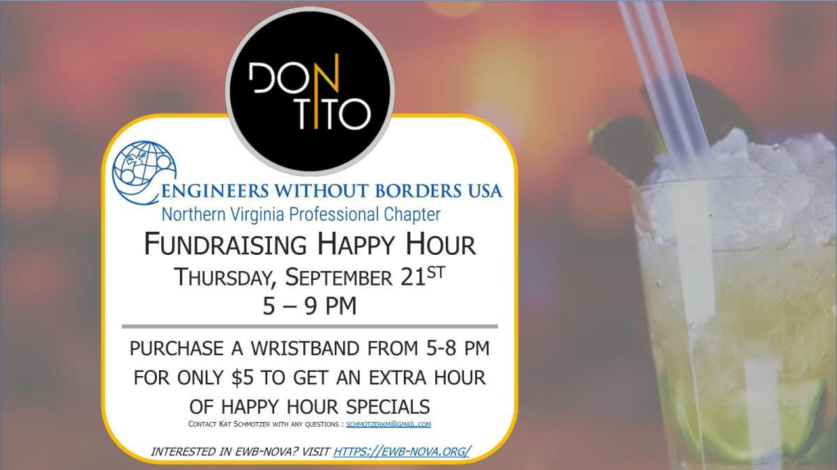 EWB NOVA - Don Tito's Fundraiser - 9.21